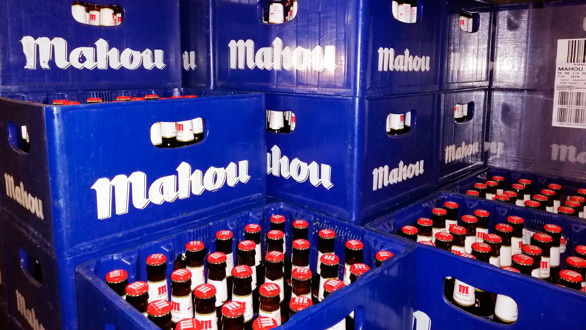 distribucion cerveza mahou